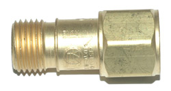 CHECK VALVE for OXYGEN - TORCH MOUNT