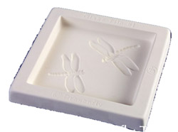 DRAGONFLY TILE CASTING MOLD - LITTLE FRITTERS