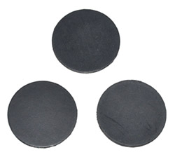 RUBBER REPLACEMENT DISCS for NORTEL BEAD LINING PRESS