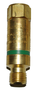 FLASHBACK ARRESTOR FOR OXYGEN - TORCH MOUNT