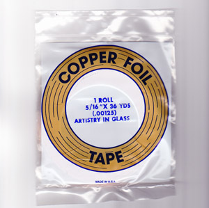 "5/16"" REGULAR COPPER BACKED FOIL - EDCO"