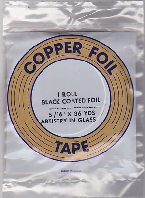 "5/16"" BLACK BACKED FOIL - EDCO"