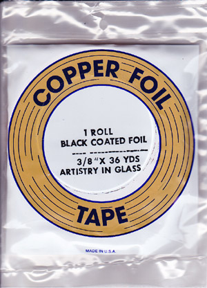 "3/8"" BLACK BACKED FOIL - EDCO"