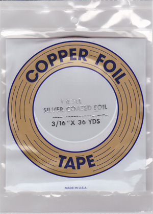 "3/16"" SILVER BACKED FOIL - EDCO"