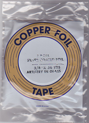 "3/8"" SILVER BACKED FOIL - EDCO"