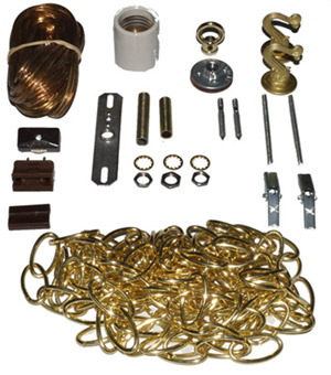 SWAG LAMP KIT (BRASS)
