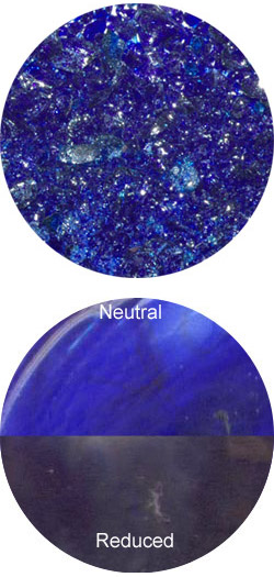 IRIS NIGHT BLUE REDUCTION FRIT - R144-2