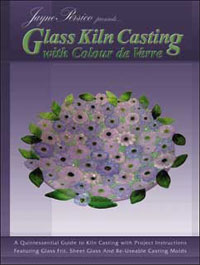 GLASS KILN CASTING WITH COLOUR DE VERRE