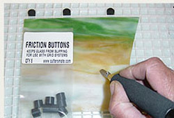 FRICTION BUTTONS