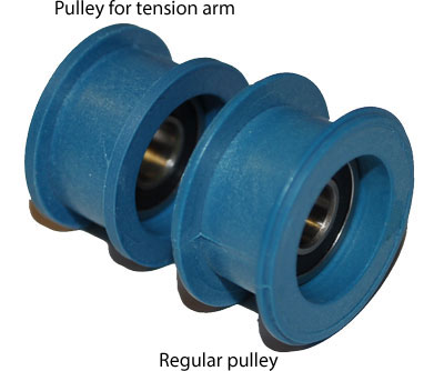 BLUE PULLEY ASSEMBLY FOR TAURUS 2 & 3 RINGSAWS