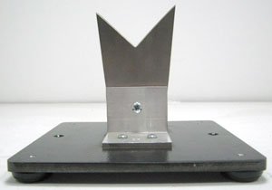 V NECK - STAINLESS STEEL STAND MOUNTED