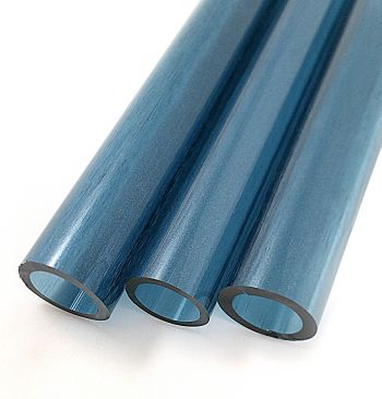 BLUE STARDUST TUBING by TAG GLASS