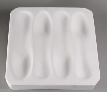 FOUR (4) SPOON SLUMP MOLD