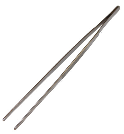 TWEEZERS - HEAVY DUTY - 8""