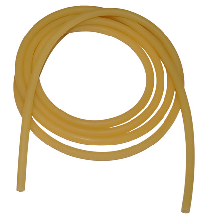 AMBER LATEX TUBE - 3/16""