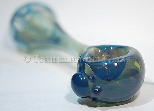 BLUE SLYME RODS by TAG GLASS