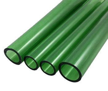 GREEN STARDUST TUBING by TAG GLASS
