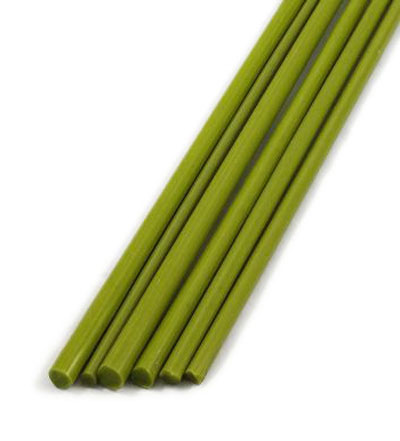 PARROT GREEN RODS by HINDU KUSH COLOUR