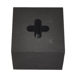 GRAPHITE OPTIC MOLD - 4 SOFT POINT STAR