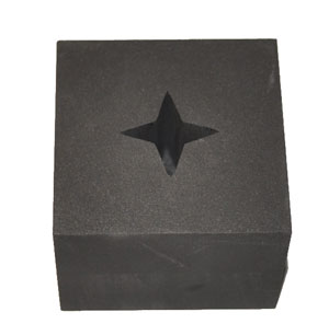 GRAPHITE OPTIC MOLD - 4 POINT STAR