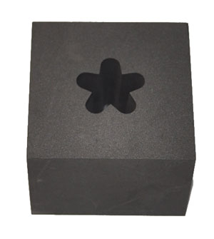 GRAPHITE OPTIC MOLD - 5 SOFT POINT STAR