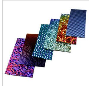 WISSMACH DICHROIC GLASS PIECES - 4OZ PACKAGE - THIN BLACK BASE