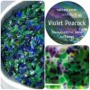 VIOLET PEACOCK FRIT MIX by CAL COX