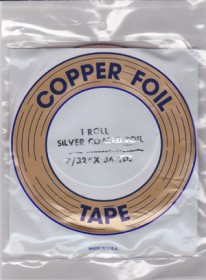 "7/32"" SILVER BACKED FOIL - EDCO"