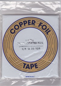 "1/4"" SILVER BACKED FOIL - EDCO"