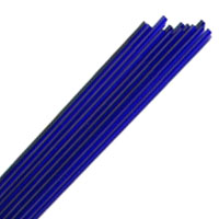 COBALT BLUE STRINGERS #060 by EFFETRE GLASS
