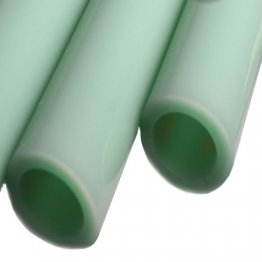 MINT GREEN BORO TUBE -  12mm x 2mm - IMPORTED