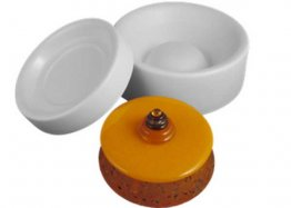 BOX - LARGE ROUND LIDDED MOLD by COLOUR DE VERRE