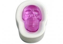 BIG SKULL CASTING MOLD by COLOUR DE VERRE