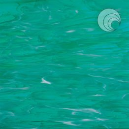 TEAL GREEN/WHITE WISPY #823.92S-F by OCEANSIDE COMPATIBLE & SYSTEM 96