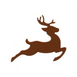 PRE CUT FUSIBLE BROWN REINDEER - 96 COE