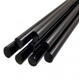 BLACK BORO ROD - 19mm