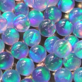 GILSON OPALS - BLUE SPHERE - 4mm