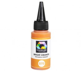 COLOR LINE PAINT BRIGHT ORANGE