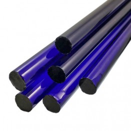 BRILLIANT BLUE BORO ROD - 25mm