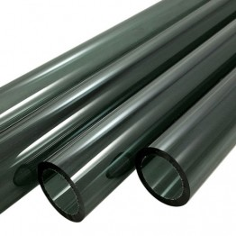 CHARCOAL GREY BORO TUBE -  12mm x 2mm - IMPORTED