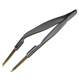 BRASS TWEEZERS - BENT