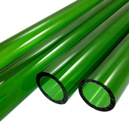 EMERALD GREEN BORO TUBE -  12mm x 2mm - IMPORTED
