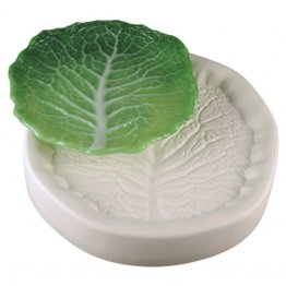 CABBAGE LEAF CASTING MOLD by COLOUR DE VERRE