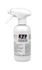 ZYP (AKA MR-97) BORON NITRIDE MOLD RELEASE FOR GLASS CASTING AND SLUMPING (12OZ)