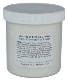GLASS ETCHING CRYSTALS (16oz)