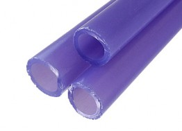 GRAPE JELLY SATIN TUBING by GREASY GLASS