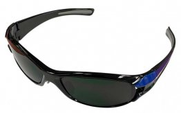 BLACK WITH BLUE DESIGNER FRAMES - BORO GLASS