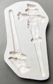 SCARECROW & CROW STAKES MOLD by CPI