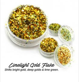 LIMELIGHT GOLD FLAKE by LUMIERE LUSTERS™