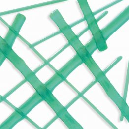 TEAL GREEN TRANSPARENT NOODLES (5232-96) by OGT & SYSTEM 96